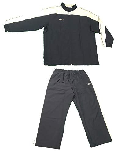 (Reebok Team Mesh Lined Warm Up Suit Jacket Pants (3X-Large,)