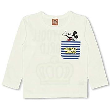 2dd3c93c3a17c BABYDOLL(ベビードール) Disney(ディズニー) 胸ポケットロンT0829K 90cm ミッキー