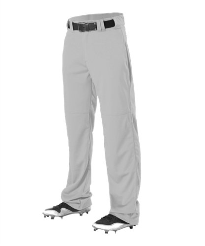 Alleson Youth Adjustable Inseam Baseball Pant Grey XS 605WAPY 605WAPY-GR-XS ()