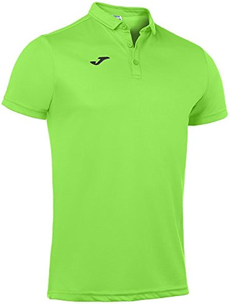 Joma Hobby, Polo para Hombre, Verde Fluor (020), XS: Amazon.es ...