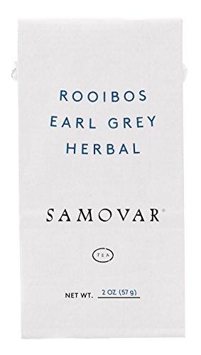 Samovar Tea Lounge Rooibos Earl Grey Herbal Infusion, Organic, 2 Ounce