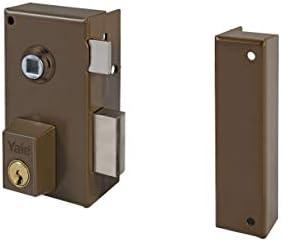 AZBE 3010063 Cerradura 56-b/hp/60/ Derecha, Marrón, Entrada 35 mm: Amazon.es: Bricolaje y herramientas