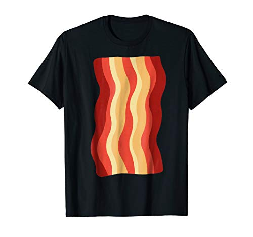 Bacon Strip Shirt Funny DIY Halloween Costume Ideas Deviled]()