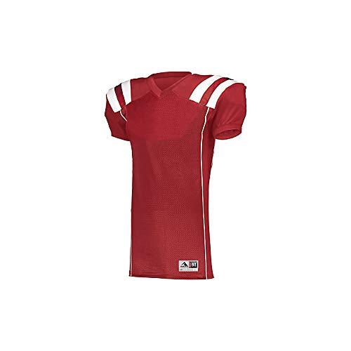 Augusta Heavyweight Jersey - Augusta Sportswear Youth TForm Football Jersey 9581 RED/White XL