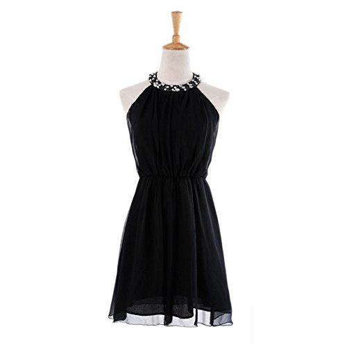 Schwarz Drasawee Damen A Linie Kleid 0UrqIYwIp