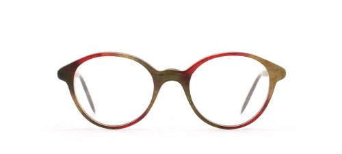 amp; Wood Green Gold Donna Red Montatura Rosso 71qdq8