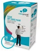Amazon Com Ideapaint Create Clear Kit Dry Erase Paint 100 Square Feet Coverage Painting Hand Tools Office Products