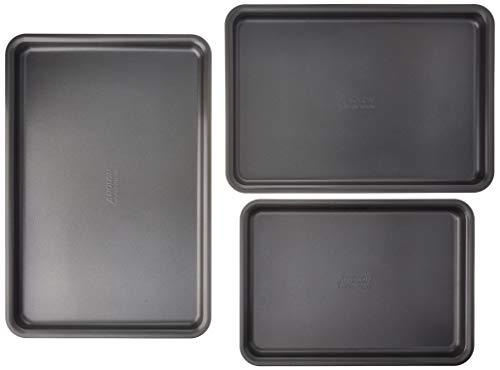 Anolon 46863 Bakeware Baking Sheets, Medium, Graphite
