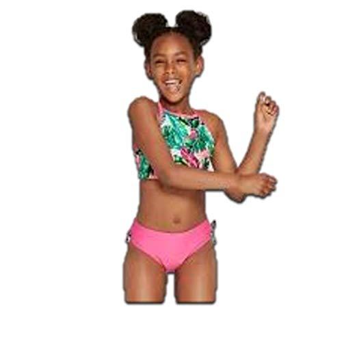Cat & Jack Girls' Paradise Palms Bikini Set Pink from Cat & Jack