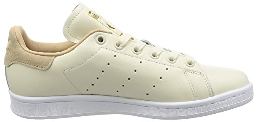 ... Adidas Kvinners Stan Smith W Lær Trenere Off White