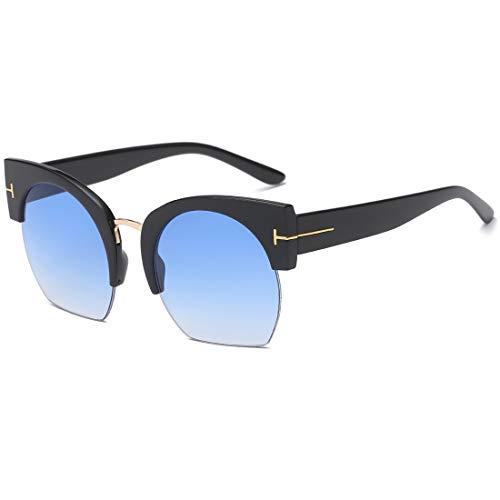 UV400 para Color Lens Frame Gafas Blue conducción Hombres Black de de Sakuldes Purple Sol de Lens Sol Black Frame protección de 100 Gafas wY4qf7g