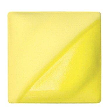 AMACO Velvet Lead-Free Non-Toxic Semi-Translucent Underglaze, 1 pt Jar, Yellow V-308