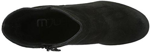 Mjus 253204-0101-6002, Zapatillas de Estar por Casa para Mujer Negro - negro