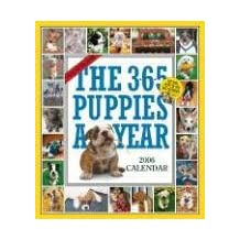 The 365 Puppies-A-Year Calendar 2006