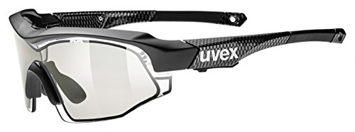 Uvex Variotronic Shield Sunglasses Black, One Size - Men's by Uvex