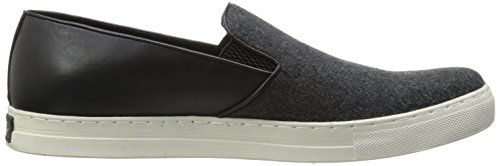 Kenneth Cole New York Mens Kvitt Eller Dubbelt Mode Sneaker Grå Vävt