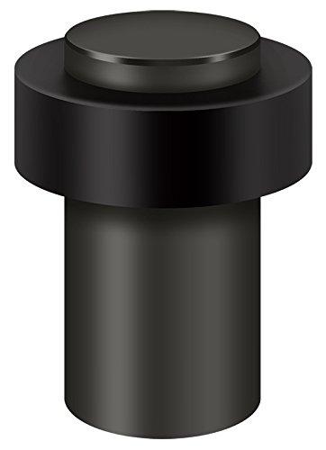 Solid Brass Door Stopper - Deltana Round Universal Floor Bumper 3