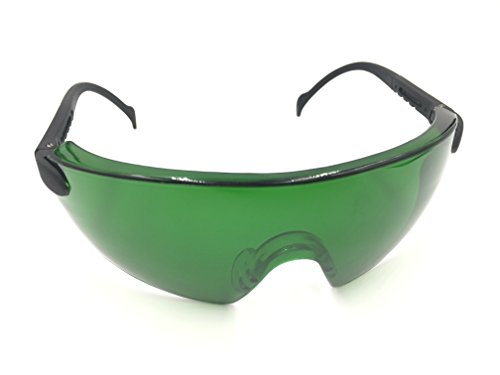 Grow Room Safety Glasses, Color Correction, Reflection, Glare Protection, Anti UV400/IR, Best for LED Grow Light, Protective Goggles, for Indoor Gardens, Greenhouses, Hydroponics, Grow Tent (Green) Review