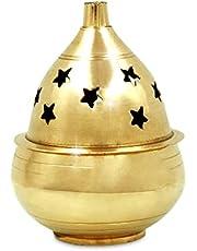 Shubhkart Indian Brass akhand Oil Diya/Lamp/Puja Deepak, deepam/Deep