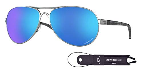 Oakley Feedback OO4079 407933 59M Polished Chrome/Prizm for sale  Delivered anywhere in USA