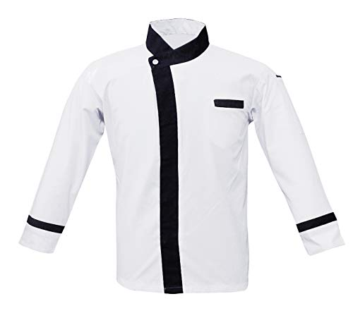 Adult Designer Chef Coat Jacket Full Sleeve Size-M