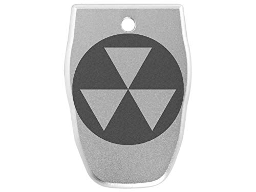 for Smith Wesson S&W SD40VE Magazine Base Plate .40 Cal NDZ Silver Fallout Shelter Symbol 1