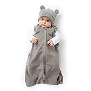 Cuddle Club Bear Wearable Blanket Grey M