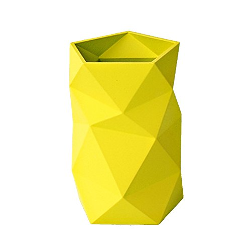 Creative Design Silicone Pen and Pencil Holder (Yellow) ()