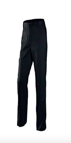NIKE Mens Dri-Fit Flat Front Golf Pants (Black, 38 x 32)