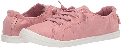 Roxy Women's Bayshore Slip on Shoe Sneaker, Pink Carnation 20, 5 M US