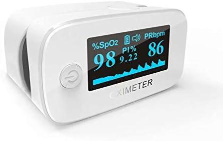 VIHII—Oxímetro de Pulso de Dedo LED, oxímetro de Pulso portátil Profesional, Ideal para monitorear la saturación de oxígeno en la Sangre
