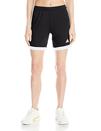 adidas Performance Tastigo 15 Shorts, Small, Black/White (Black Adidas Running Shorts)