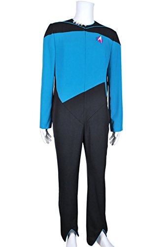 Star Trek Cosplay Medical Science Officer Costume