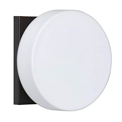Besa Lighting 1WS-773807-BR 1X50W G9 Ciro Wall Sconce with Opal Matte Glass, Bronze Finish - - Amazon.com