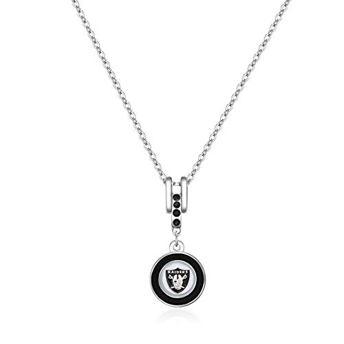 Pro Specialties Group NFL Oakland Raiders Charm Necklace ()
