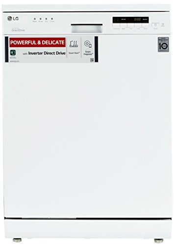 LG Free-Standing 14 Place Settings Dishwasher (D1451WF, White)