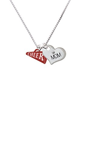 Cheer Mom Necklace (Acrylic 3/4