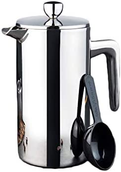 Cafetera Francesa Cafetera de presión de Acero Inoxidable Cafetera ...