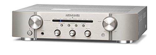 marantz Integrated Amplifier 192 kHz / 24 bit support, high-quality digital input PM-6006 / FN (Silver Gold) by Marantz