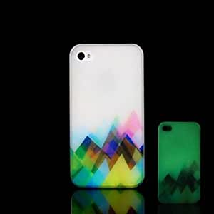 YULIN iPhone 5/iPhone 5S compatible Special Design/Glow in the Dark Back Cover
