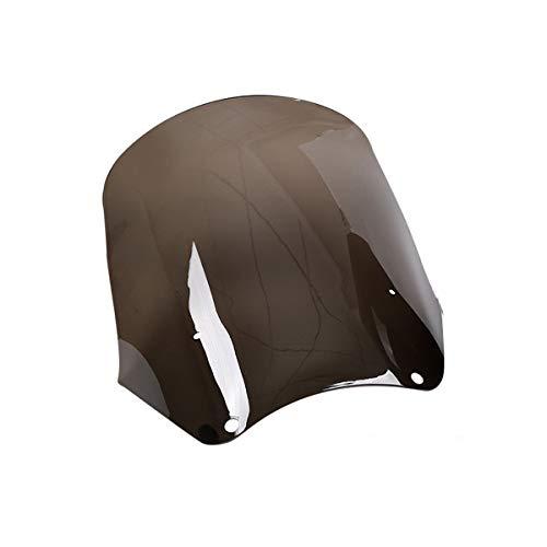 (XMT-MOTO 15 inch Windscreen fits for Harley Davidson Dyna Street Bob T-Sport,Smoke)