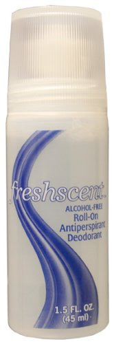 1.5 oz Anti-Perspirant Clear Roll-On Deodorant, alcohol free