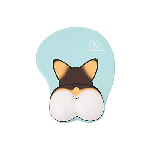 Nayo The Corgi Corgi Butt 3D Mouse Pad - Original Design Owner (Tri Color)