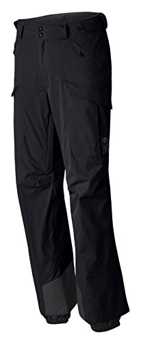 Mountain Hardwear Returnia Cargo Pant - Men's Black Large Regular - Mountain Hardwear Fleece Pants