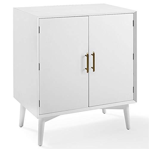 Bar Sideboard - Crosley Furniture CF4403-WH Landon Mid-Century Modern Bar Cabinet, White