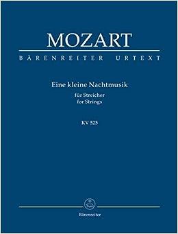Amazon com: Mozart: Eine kleine Nachtmusik for Strings, K