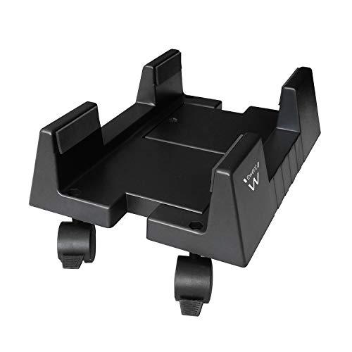 Ewent EW1290 - Soporte (Cart CPU Holder, Escritorio, 8 kg, Negro, ABS sinteticos, Horizontal)