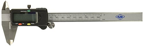 Caliper Gauge Micrometer (Science Purchase 0604CAL6$ Stainless Steel Electronic LCD Digital Vernier Caliper Gauge Micrometer with Carrying Case, 6