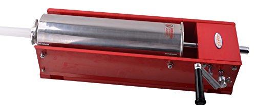 Hakka 15 Lbs(7 Liter) Sausage Stuffers 2 Speed Horzontal Sausage Makers