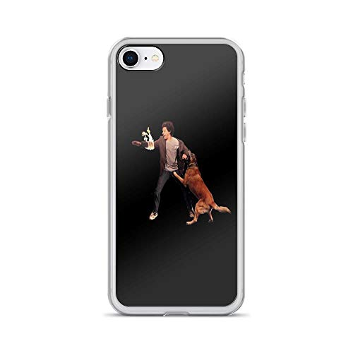 iPhone 7 Case iPhone 8 Case Clear Anti-Scratch Eric Andre Shirt, The eric Andre Show Cover Phone Cases for iPhone 7/iPhone 8, Crystal Clear]()